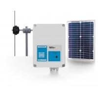 Усилитель сигналов данных с питанием от солнечной батареи
