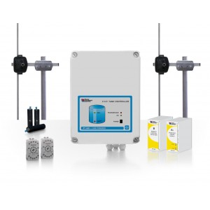 15km WIRELESS SYSTEM FOR REMOTE CONTROL OF A PUMP BY A WATER TANK
