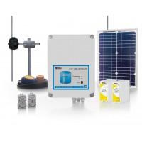 Беспроводная система связи для дистанционного управления насосной станцией водного резервуара дальностью 15 км.