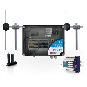 20km 169MHz WIRELESS SYSTEM FOR REMOTE CONTROL OF A PUMP BY A WATER TANK